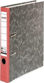 Falken Wolkenmarmor Recycling Ordner A4, 5cm, rot (80023302002)