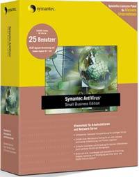 Symantec: Norton AntiVirus SBS WS+NS 8.1, 5 User (englisch) (PC) (10060587-IN)