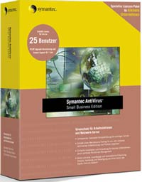 Symantec: Norton AntiVirus SBS WS+NS 8.1, 5 User (PC) (10073403-GE)