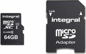 Integral ultima PRO R90 microSDXC 64GB Kit, UHS-I U1, Class 10 (INMSDX64G10-90U1)