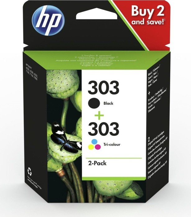 HP Printhead with ink 303 multipack (3YM92AE)