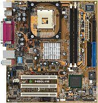 ASUS P4BGL-VM, i845GL, VGA (various versions) (DDR)