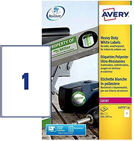 Avery-Zweckform L4775-20 Folien-Etiketten -- via Amazon Partnerprogramm