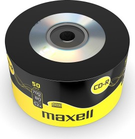 Maxell CD-R 80min/700MB 52x, Shrink, 50er-Pack (640436)