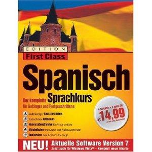 Digital Publishing First Class Sprachkurs Spanisch 7.0 (deutsch) (PC)