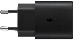 Samsung Schnellladegerät 25W USB Typ-C ohne Kabel schwarz (EP-TA800NBEGEU)