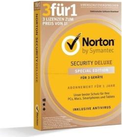 Symantec Norton Security Deluxe 3.0 3für1, 3 User, PKC (deutsch) (Multi-Device) (21384422)