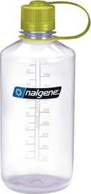 Nalgene Narrow Mouth Trinkflasche 1l clear/green (2078-2033)