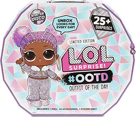 MGA Entertainment L.O.L. Surprise! Winter Disco Adventskalender 2019 -- via Amazon Partnerprogramm
