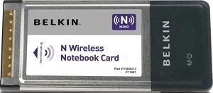 Belkin Wireless N, Cardbus (F5D8013)