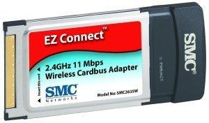 SMC EZ Connect, 11Mbps, Cardbus (SMC2635W)