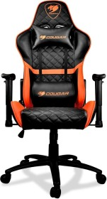 Cougar Armor One Gamingstuhl, schwarz/orange (3MARONXB.0001)
