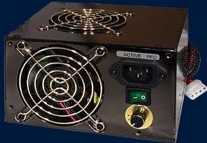 Levicom Black Power 350W ATX (SPS-350XPA-P) -- © CWsoft