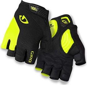 Giro Strade Dure SG Fahrradhandschuhe black/highlight yellow (230068)