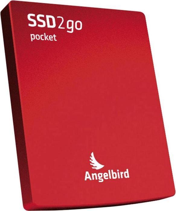 "Angelbird SSD2go pocket rot 128GB, 2.5"", USB 3.0 Micro-B (2GOPKT128RK)"