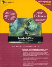 Symantec Norton AntiVirus Multi Tier Protection SBS 8.1, 50 User (PC) (10073467-GE)