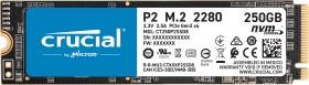 Crucial P2 SSD 250GB, M.2 (CT250P2SSD8)