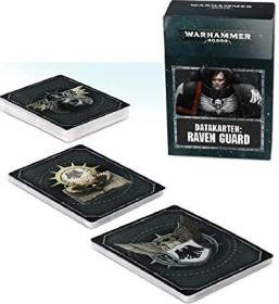 Games Workshop Warhammer 40.000 - Datakarten: Raven Guard (DE) (04220101017)