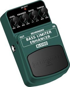 Behringer BLE100 bass limiter enhancer Effect pedal -- © Copyright 200x, Behringer International GmbH