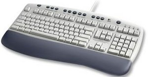 Logitech OEM Office keyboard, PS/2, DE (967220-1102)