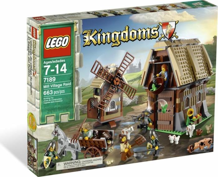 LEGO Kingdoms - Überfall auf das Mühlen-Dorf (7189) -- via Amazon Partnerprogramm