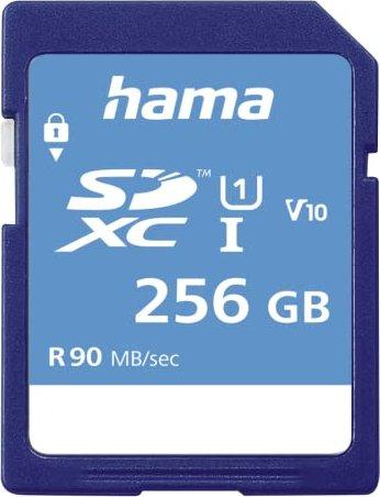 Hama HighSpeed R80 SDXC 256GB, UHS-I, Class 10 (00123997) -- via Amazon Partnerprogramm