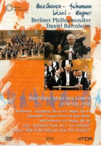 Die Berliner Philharmoniker - Staatsoper Unter den Linden, Berlin 1998 -- via Amazon Partnerprogramm