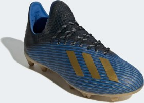 adidas X 19.1 FG core black/gold metallic/football blue (Junior) (F35682)