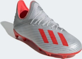 adidas X 19.1 FG silver metallic/hi-res red/cloud white (Junior) (F35683)