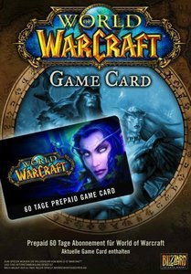 World of WarCraft - 60 days Game Time Card (German) (PC/MAC)