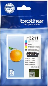 Brother ink LC3211VAL multipack (LC3211VALDR)