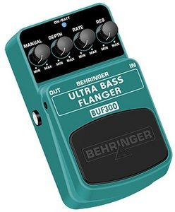 Behringer BUF300 bass flanger Effect pedal -- © Copyright 200x, Behringer International GmbH