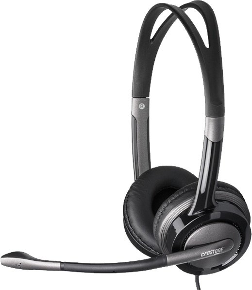 Cabstone Multimedia USB Headset schwarz