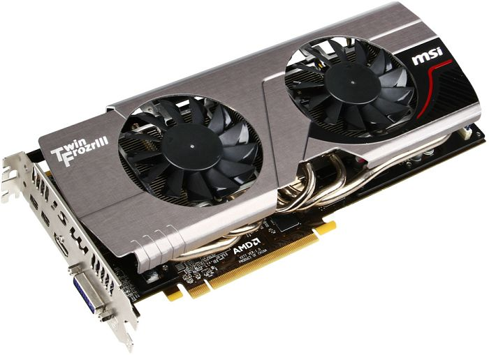 MSI R7970 Twin Frozr 3GD5/OC BE, Radeon HD 7970, 3GB GDDR5, DVI, HDMI, 2x Mini DisplayPort (V277-031R)