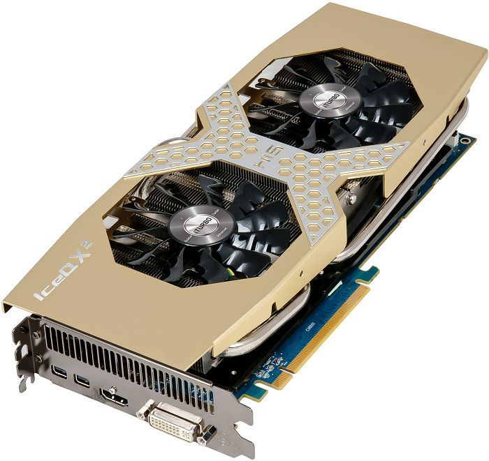 HIS Radeon R9 280 IceQ X² OC, 3GB GDDR5, DVI, HDMI, 2x Mini DisplayPort (H280QMC3G2M)