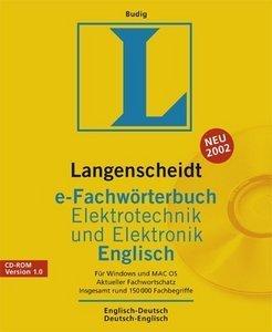 Langenscheidt e-Fachwörterbuch Elektrotechnik und Elektronik - Englisch, ESD (deutsch) (PC)