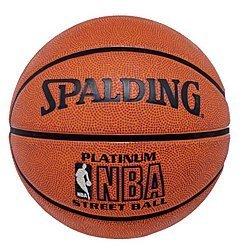 Spalding Official NBA Platinum Street Basketball (3001531011034)