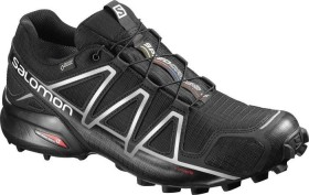 Salomon Speedcross 4 GTX black/silver metallic (Herren) (383181)