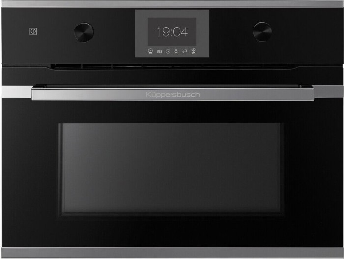 Küppersbusch CBM 6350.0 S3 Silver chrome oven with microwave