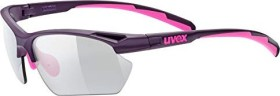 UVEX sportstyle 802 small vario weiß pink/rosa