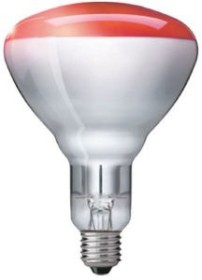 Philips Infrared Industrial heat BR125 IR 150W E27 infrared lamp (575203-25)