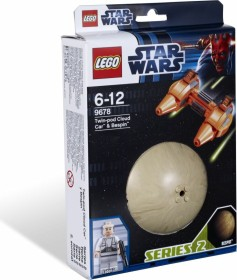 LEGO Star Wars Buildable Galaxy - Twin-pod Cloud Car & Bespin (9678)