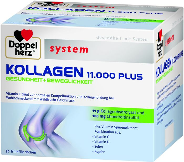 Doppelherz system collagen 11.000 Plus, 30 pieces