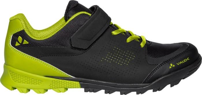 Vaude Unisex-Erwachsene Am Downieville Low Mountainbike Schuhe, Schwarz (Black/Chute 618), 44 EU