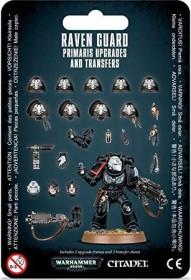 Games Workshop Warhammer 40.000 - Upgrades und Abziehbilderbögen: Raven Guard Primaris (99070101041)