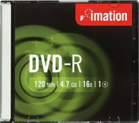 Imation DVD-R 4.7GB 16x, 10-pack Slimcase (21977)