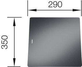 Blanco Glasschneidebrett (221448)