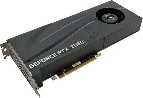Manli GeForce RTX 2060 Heatsink with Blower Fan, 6GB GDDR6, HDMI, 3x DP (N52220600M14240)
