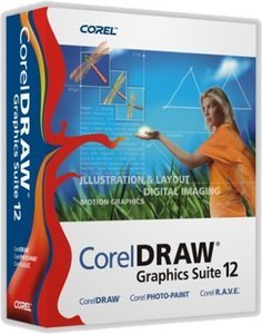 Corel: Corel Draw Graphics Suite 12 - full version bundle (PC)