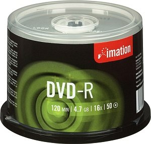 Imation DVD-R 4.7GB 16x, 50-pack Spindle (21980)